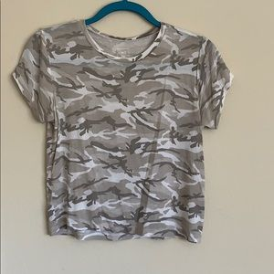 PACSUN Me to We Camouflage Shirt